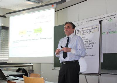 Michael Meiss im Vortrag